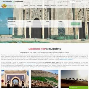 Enjoy Refreshing Warmth in a Stunningly Beautiful Morocco | Morocco Excursions C