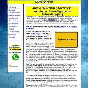Autoverschrottung Nordrhein Westfalen
