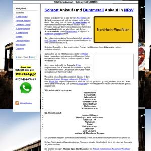 Schrottankauf NRW | NE-Metall Ankauf NRW