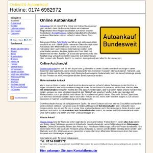 Online Autoankauf