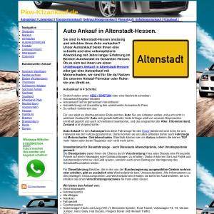 Auto Ankauf in Altenstadt-Hessen