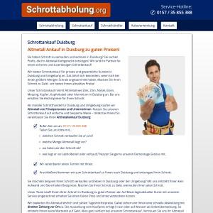 Schrottankauf Duisburg • Altmetallankauf zu guten Preisen
