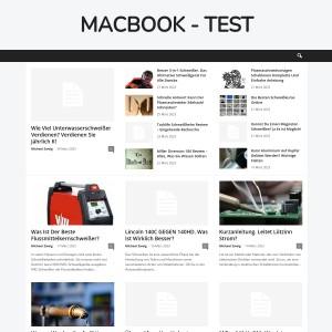 macbook pro test