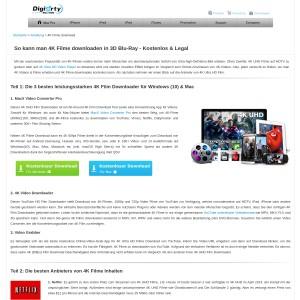 4K Filme Download Anleitung | 4K Filme in 3D Blu Ray downloaden