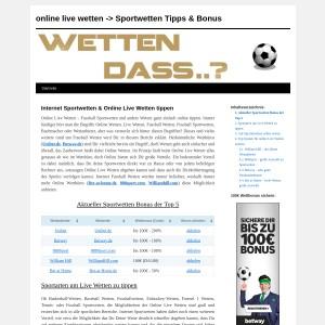 Top 5 Sportwetten Bonus aktuell