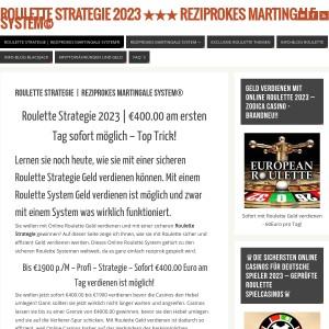 REZIPROKES MARTINGALE SYSTEM | Online Geld verdienen