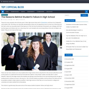 The Reasons Behind Student's Failure in High School – The Essay Papers | Off