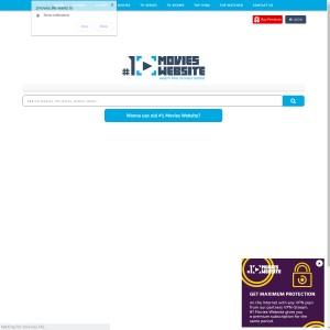 1 Movies Website