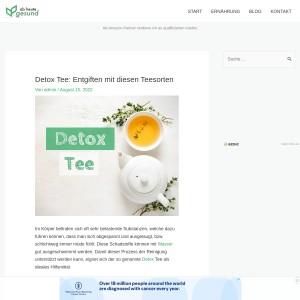 Detox Tee: Entgiften mit diesen Teesorten | Ab heute gesund!