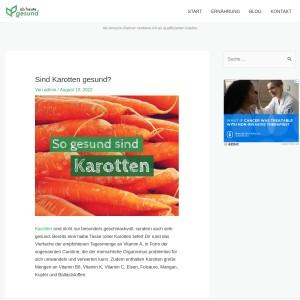 10 Gründe, warum Karotten gesund sind! | Ab heute gesund!