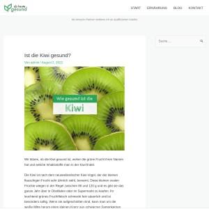 Ist die Kiwi gesund? | Ab heute gesund!