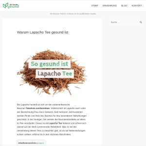 Warum Lapacho Tee gesund ist | Ab heute gesund!