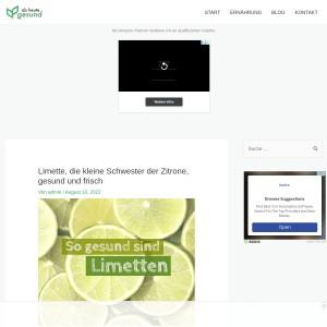 Limette, die kleine Schwester der Zitrone, gesund und frisch | Ab heute gesund!