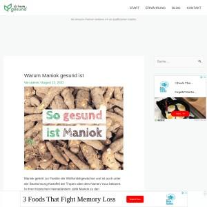 Warum Maniok gesund ist | Ab heute gesund!