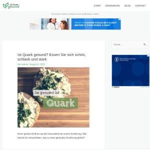 Ist Quark gesund? Essen Sie sich schön, schlank und stark | Ab heute gesund!