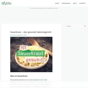 Sauerkraut - das gesunde Nationalgericht | Ab heute gesund!