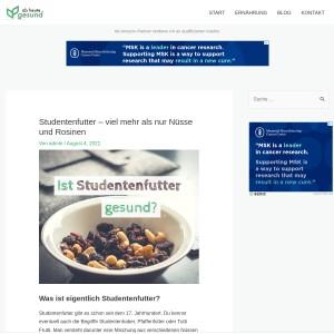 Studentenfutter – viel mehr als nur Nüsse und Rosinen | Ab heute gesund!