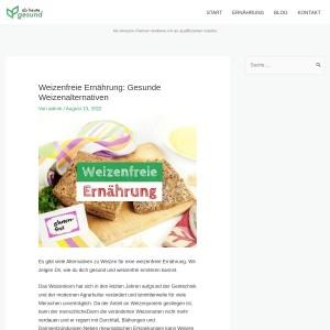 Weizenfreie Ernährung: Gesunde Weizenalternativen | Ab heute gesund!