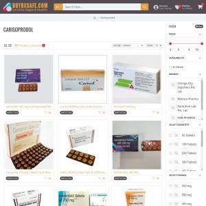 Carisoprodol 350 mg Tablet Treat Muscle Pain, Carisoprodol Uses, Dosage &amp Rev