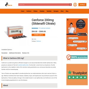 Cenforce 200 Mg Tablet | ED Solution in Male