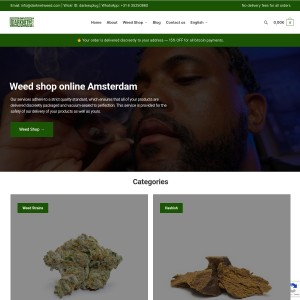 Buy weed online UK | Buy cannabis from Amsterdam online