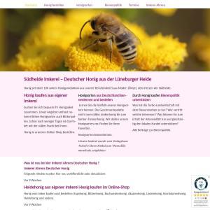 Impressum Imkerei Deutscher Honig aus eigener Imkerei