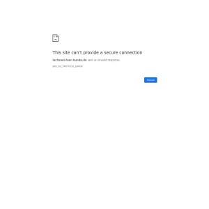 Lachsöl für den Hund