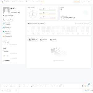 verktoy - Profile - LeetCode