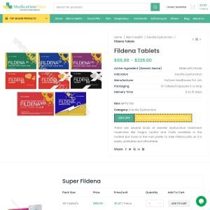 Fildena tablets | Treat ED | Get upto 30% OFF