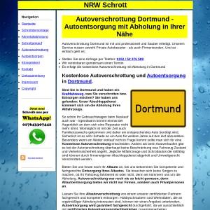 Autoverschrottung Dortmund | Autoentsorgung in Dortmund