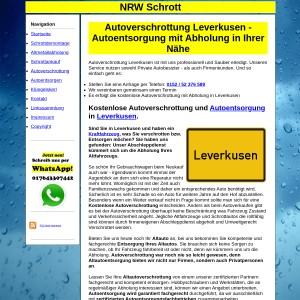 Autoverschrottung Leverkusen | Autoentsorgung in Leverkusen