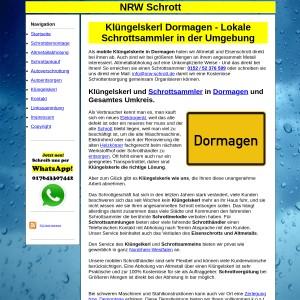 Kl&uuml ngelskerl Dormagen | Schrottsammler Dormagen