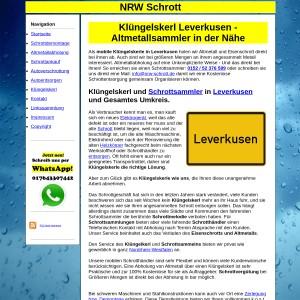 Kl&uuml ngelskerl Leverkusen | Schrottsammler Leverkusen