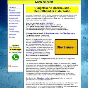 Kl&uuml ngelskerl Oberhausen | Schrottsammler Oberhausen