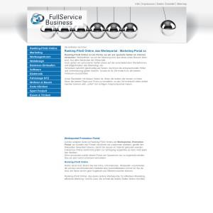 Webkatolog der Firma FSnD, suchmaschinenfreundlich und optimiert