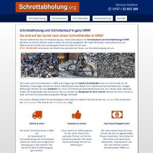 Schrottabholung &amp Schrottankauf in ganz NRW | 6 Tage die Woche