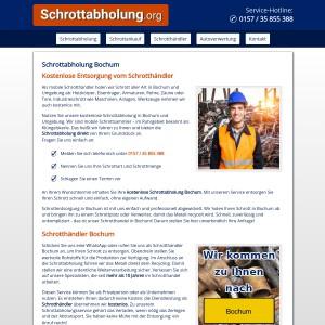 Schrottabholung Bochum • Klüngelskerl nimmt Schrott mit