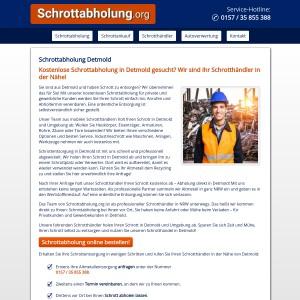 Schrottabholung Detmold • Altmetall | Kfz-Schrott | Kabel