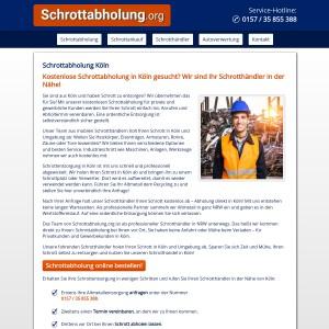 Schrottabholung Köln • Altmetall | Kfz-Schrott | Kabel