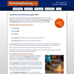 Kostenlose Schrottabholung in NRW | Altmetall • Elektroschrott • und mehr