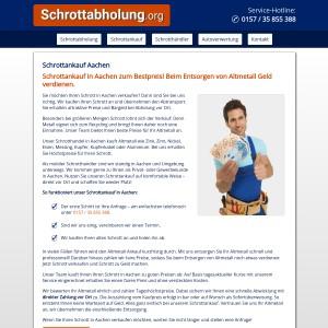 Schrottankauf Aachen • Altmetallankauf • Faire Preise • Bargeld