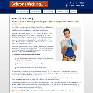 Schrottankauf Arnsberg • Faire Preise • Bargeld