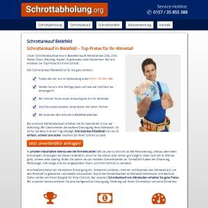 Schrottankauf Bielefeld • Bargeld bei Abholung