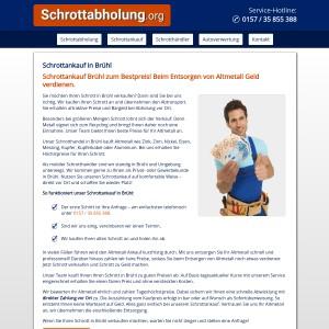 Schrottankauf Brühl • Faire Preise • Bargeld