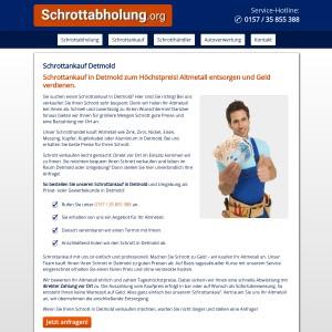 Schrottankauf Detmold • Gute Preise • Service inklusive