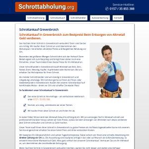 Schrottankauf Grevenbroich • Altmetallankauf • Faire Preise • Bargeld