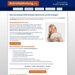 Schrottankauf in NRW | Altmetall • Elektroschrott • KFZ | Bargeld sofort