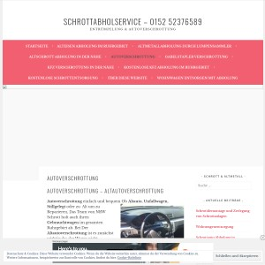 Autoverschrottung - Schrottabholservice