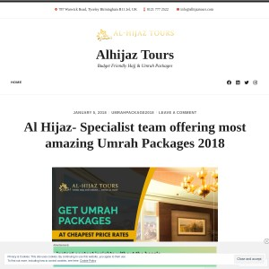 Al Hijaz- Specialist team offering most amazing Umrah Packages 2018