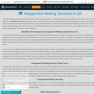 Best Assignment Writing Service in UK
